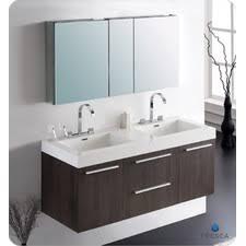 55 inch double sink bathroom vanity: quick view black senza quot double opulento modern bathroom vanity