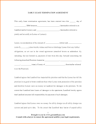 termination of lease agreement letter template word termination of lease agreement 23223929 png