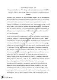 vce philosophy unit critique of plato and descartes arguments contemporary issues essay on epistemology