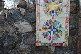 Daisy Quilts So Cute! - Color Girl Quilts by Sharon McConnell & Daisy quilt pattern by Color Girl Quilts with Sage fabric by Art Gallery  Fabrics Adamdwight.com