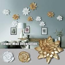 mladen flower wall decor 3d resin lotus