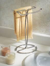 bathroom shower towel stand countertop rack holder countertop hand towel tree