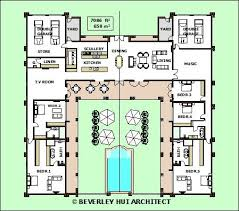 images about Courtyard Homes  home sweet home  on Pinterest    H SHAPED HOUSE PLANS WITH POOL IN THE MIDDLE Pg   Courtyard single storey