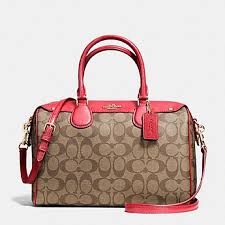 Coach LARGE Bennett Signature Satchel