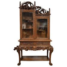 modern japanese furniture. Marvelous Carved Cabinet On Stand Japanese Meiji Period Antique Pict For Modern Furniture Style And Los E