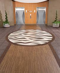 luxury vinyl floor design for corporate interior flooring by centiva