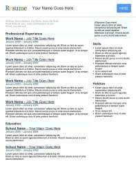 resume search resume search engines search engine resume template free resume  search tools