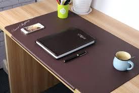 office desk cover in black office desk glass top