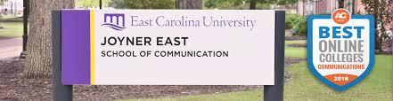 academic works ecu scholarships current students school of communication
