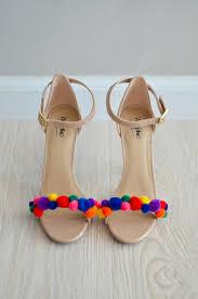 diy pom pom high heels was last modified may 22nd 2017 by stefanie