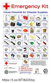 Baby Supplies Checklist Emergency Kit Visual Checklist For Disaster Supplies
