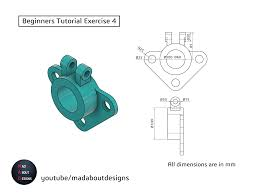 Mostly, my tasks have been composed of taking 2d prints, and turning them into 3d fusion models. Pin On Learn 3d Cad Designs