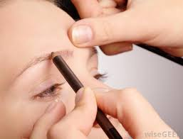 eyebrow pencils can be used to enhance and thicken the appearance of the eyebrows when apply pageant makeup