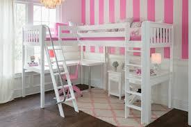 white bedroom desk furniture. Simple White UnderLoftTwoDesksAngled With White Bedroom Desk Furniture
