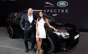 Tata Jaguar Land Rover Unveils New James Bond Cars