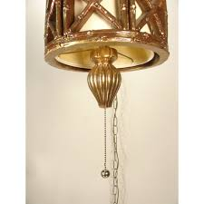 bottom finial and pull chain faux bamboo hanging ceiling swag lamp wiring