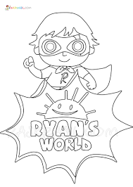 Free coloring pages for children and adults. Ryan S World Coloring Pages 20 New Coloring Pages Free Printable