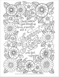 Small Picture Adult Scripture Coloring Pages Design Inspiration Christian