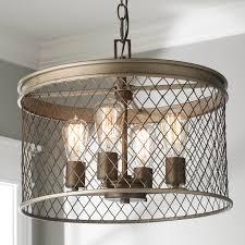 oversized pendant lighting. contemporary cage 4light pendant oversized lighting