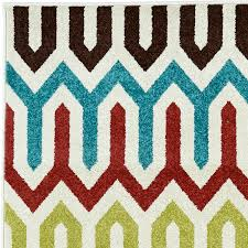 delectably yours decor laredo multi color indoor outdoor rug 5x8 or 8x10