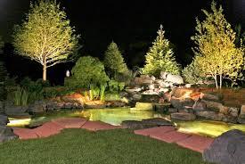 landscape lighting low voltage kits backyard landscape lighting