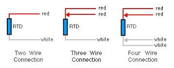 3 Wire Rtd Resistance Chart Difference Between 2 Wire Rtd 3 Wire Rtd And 4 Wire Rtds