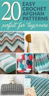 Easy Crochet Blanket Patterns For Beginners Delectable 48 Easy Crochet Afghans Perfect For Beginners Dabbles Babbles