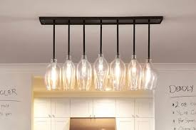 image of chic dining room light fixture