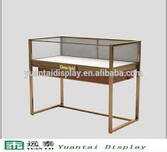 Steel Stands For Display Modern High Quality Glass Stainless Steel Stand Jewelry Display 69