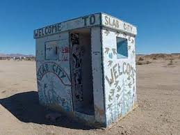 Living 'off the grid' in Slab City, an abandoned Marines training facility  in the California desert