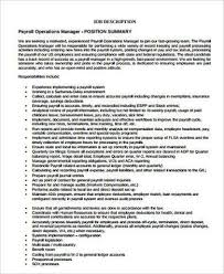 payroll manager job description payroll manager resume sample payroll resume