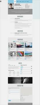 10 Html10 Resume Templates Free Samples Examples Format Download