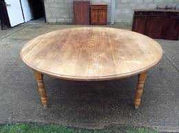 sophisticated large round dining table seats 10 antique furniture warehouse large antique oak round table huge