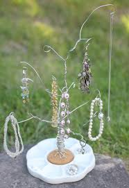 diy wire jewelry tree