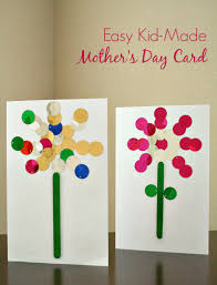 Kid Cards Easy Mother S Day Card Kids Can Make Fantastic Fun Learning