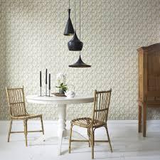 Kitchen Backsplash Wallpaper Kitchen Contemporary Blue Leafs Kitchen Wallpaper Over Silver