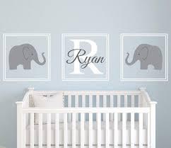 elephant wall art name decal nursery room decor vinyl on wall art decal nursery with elephant wall art name decal nursery room decor vinyl lovely