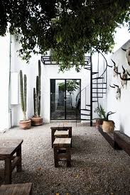 With a full assortment of exterior lighting. 9 Amazing Outdoor Spaces You Ll Dream About This Summer The Edit Outdoor Spaces Outdoor Living Patio