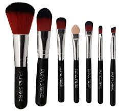 puna make up brush set black 7 pieces at low s in india amazon in