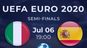 LIVE Football Italy vs. Spain Live ...