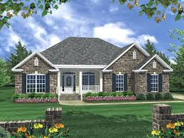charming one story house plans with front porch traditional ranch has brick in addition to traditional brick house plans