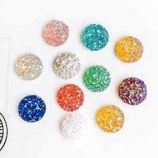 12mm mixed colors resin glass cabochon flat back cameo cabochon fit earring pendant base jewelry components diy material 100pcs malaysia