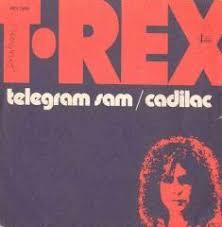 Number Ones Of The Seventies 1972 T Rex Telegram Sam
