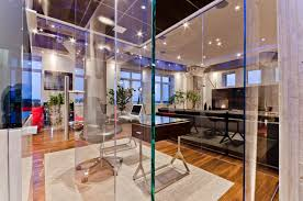 interior creative collection designs office. Glass Partition Wall For Creative Home Office Solution Interior Collection Designs D