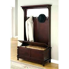 Large Coat Rack Beauteous Entryway Bench With Mirror And Hooks Large Size Of Storage Shoe