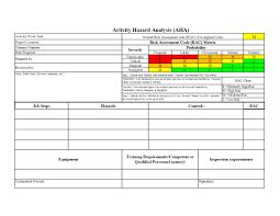 job safety analysis template jha template rome fontanacountryinn com