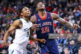 St. John's Red Storm forward Chris Obekpa battles Tulane Green Wave... News  Photo - Getty Images