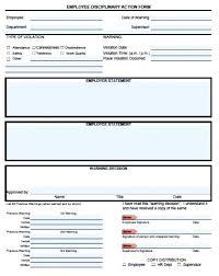 Restaurant Write Up Forms Employee Write Up Form Google Docs Restaurant Free Template Doc