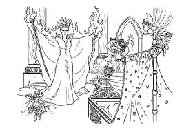Small Picture Maleficent curse coloring pages ColoringStar