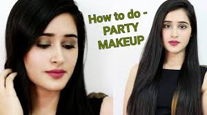 how to 5 minutes party makeup hindi step by step makeup tutorial